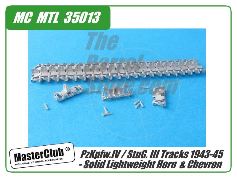 pzkpfw iv stug iii tracks 1943 45 solid lightweight horn